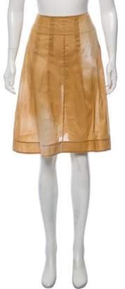 Marni Sheer Pleated Skirt w/ Tags