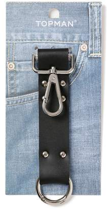 Leather Strap Keyring*