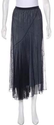 Rebecca Taylor Mesh Midi Skirt