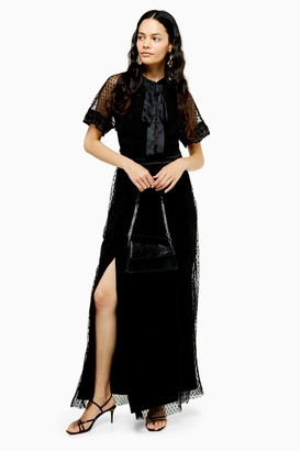 Topshop Layered Maxi Dress by Lace & Beads
