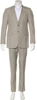 Prada Seersucker Wool & Silk Suit