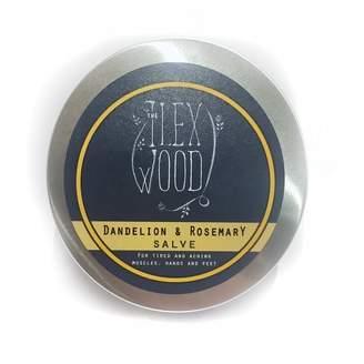 The Ilex Wood Dandelion & Rosemary Salve 100Ml
