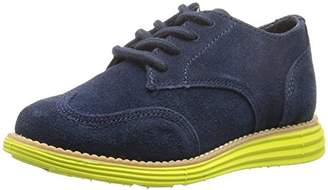Cole Haan Boys' Grand NVY SDE-Wasabi GN Oxford
