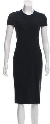Yigal Azrouel Short Sleeve Midi Dress