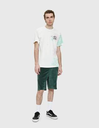 Stussy New Waves TD Tee in Natural