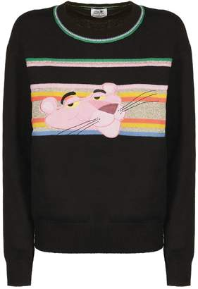 Essentiel Panther Embroidered Sweater