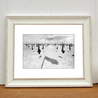 PAUL COOKLIN Parasols, Deauville Beach, France Photo Art Print