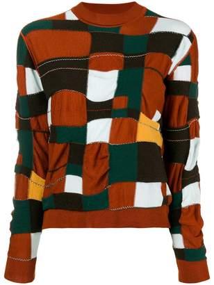 Marni patchwork jumper