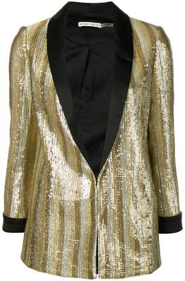 Alice + Olivia (アリス オリビア) - Alice+Olivia embellished fitted blazer