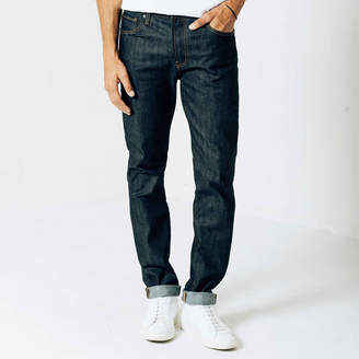 DSTLD Slim 11.75oz Raw Denim Jeans in 24-dip Indigo - Timber