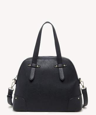 At Sole Society Christie Vegan Leather Studded Satchel