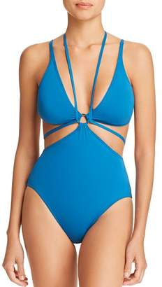 Vince Camuto Strappy One Piece Swimsuit