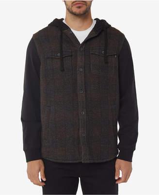 O'Neill Men's Vapor Standard-Fit Stripe Hooded Shirt