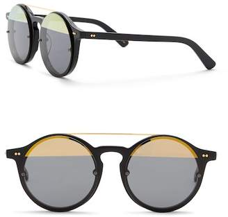 Cat Eye SUNDAY SOMEWHERE Matahari 50mm Round Sunglasses