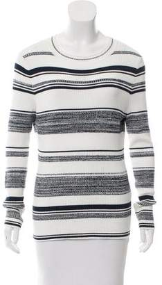 Reiss Long Sleeve Knit Top