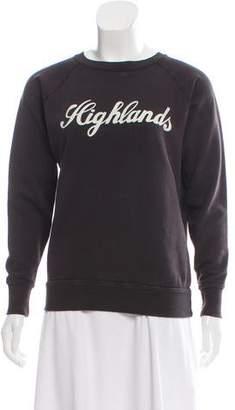 Etoile Isabel Marant Graphic Long Sleeve Sweatshirt