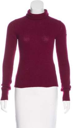 Moncler Wool & Cashmere Turtleneck Sweater