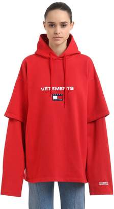 Vetements Tommy Hilfiger Hooded Cotton Sweatshirt