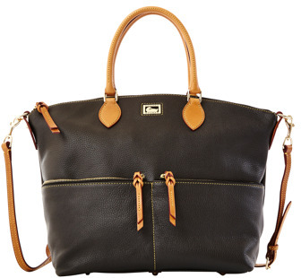 Dooney & Bourke Large Pocket Satchel