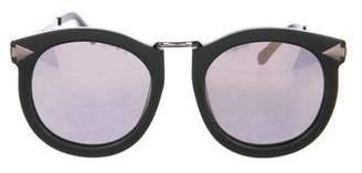 Karen Walker Super Lunar Oversize Sunglasses