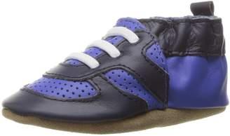 Robeez Boys' Soft Soles Sneaker, Super Sporty-Dazzling Blue