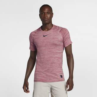 Nike Pro Men's Short-Sleeve Fitted Top
