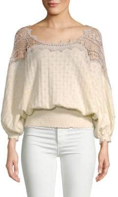 Free People Love Lace Blouse