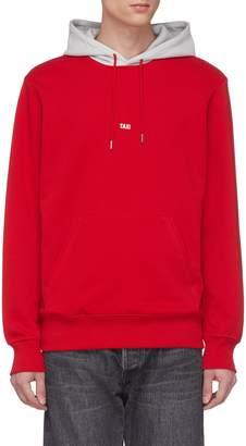 Helmut Lang 'Taxi' slogan print hoodie