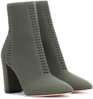 Gianvito Rossi Exclusive to mytheresa.com Thurlow knitted ankle boots