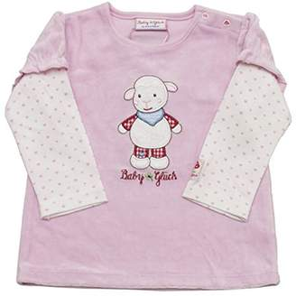 Salt&Pepper Salt and Pepper Baby Girls' BG Sweat 2in1 Nicki Schaf Sweatshirt