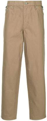 Kolor zip detail tapered trousers