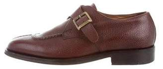 Missoni Leather Monk Strap Shoes