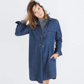 Madewell Denim Popover Shirtdress
