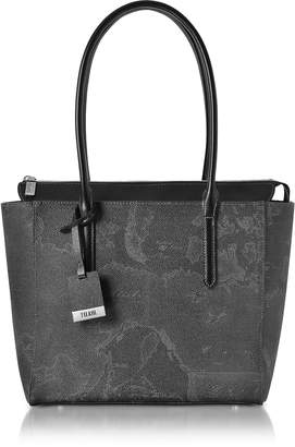 Alviero Martini Medium Geo Black Tote