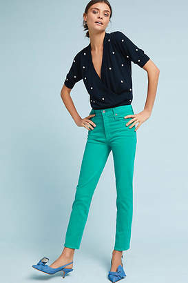 Citizens of Humanity Cara High-Rise Cigarette Ankle Jeans