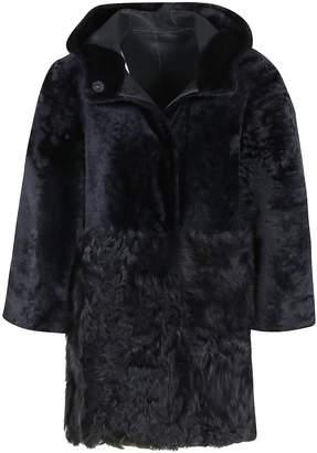 Drome Fur Detailed Coat