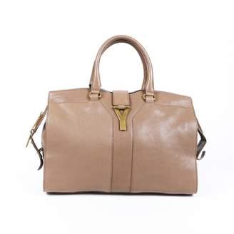 Saint Laurent Chyc Beige Leather Handbags
