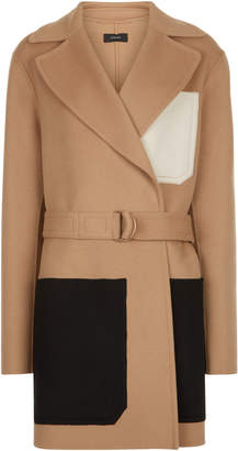 Joseph Marcus Short Luxe Double Wool Coat