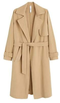 MANGO Classic trench with bows