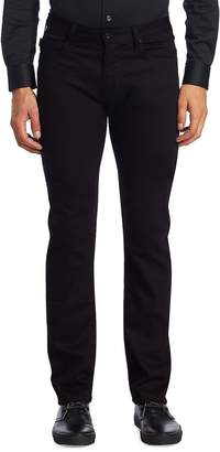 Giorgio Armani Men's AJ Slim-Fit Dark Jeans