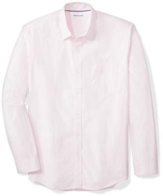 Amazon Essentials Men's Regular-Fit Long-Sleeve Solid Shirt