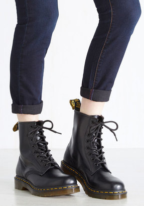 Dr. Martens I Like How You Lean Leather Boot in 6 $134.99 thestylecure.com