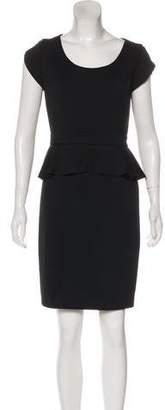 Rebecca Taylor Peplum Sheath Dress