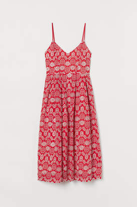 H&M Dress in broderie anglaise