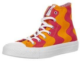 Converse CHUCK TAYLOR ALL STAR PREMIUM Hightop Trainers orange