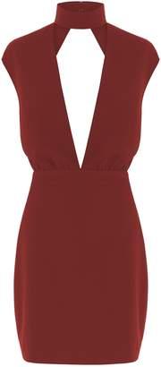 Aq/Aq Dakota Keyhole Mini Dress