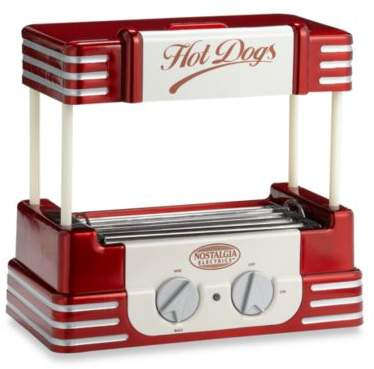 Nostalgia Electrics NostalgiaTM Electrics Retro SeriesTM 50's Style Hot Dog Roller