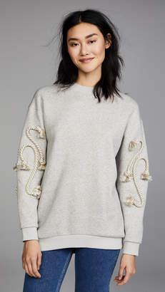See by Chloe Crafty Rope Sweatshirt