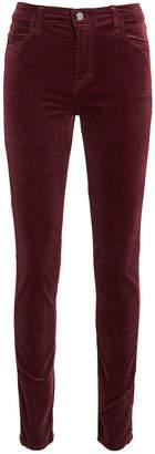 J Brand Maria Velvet Skinny Pants