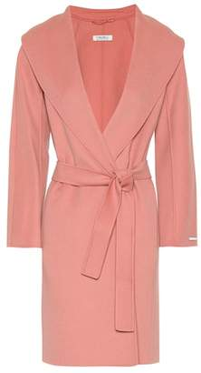Max Mara S Messi wool wrap coat